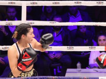 Sahra Işık - Berna Canbeldek mücadelesi