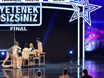 Özcan Özkaya final performansı