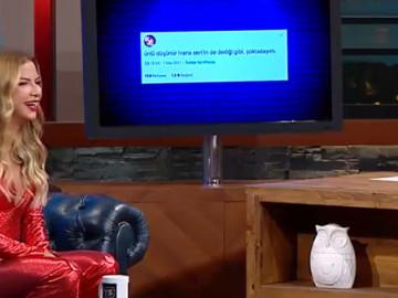 Eser Yenenler Show yeni bölüm konuğu Ilvana Sert, linç bölümünde kahkahalara boğuldu