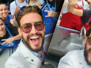 Danilo Zanna'dan selfie şov